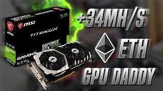 1070 Ti Titanium Mining 34 + Mhs Video
