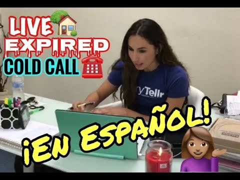 LIVE Cold Calling in Spanish - En Español