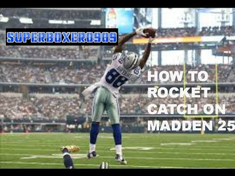 how to stop rocket catch madden 12