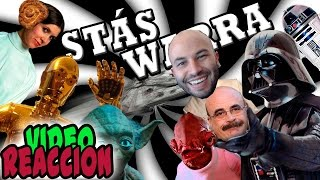 Stas Warra | Parodia Stars Wars | Video Reaccion | En Español | HDUB
