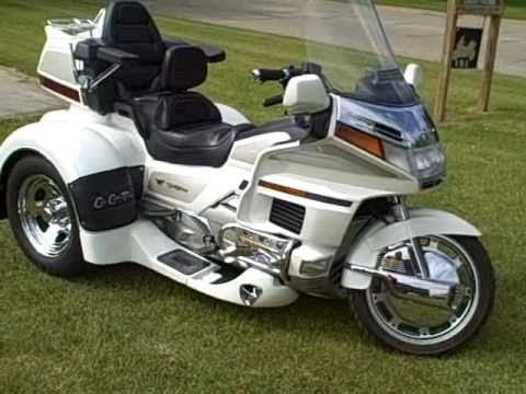 sold honda trike 1500 gl coupe w aqua sheilds youtube. Black Bedroom Furniture Sets. Home Design Ideas