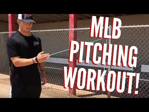 MLB Pitching Workout: Baseball Workouts For Pitchers (TRY THIS!!)