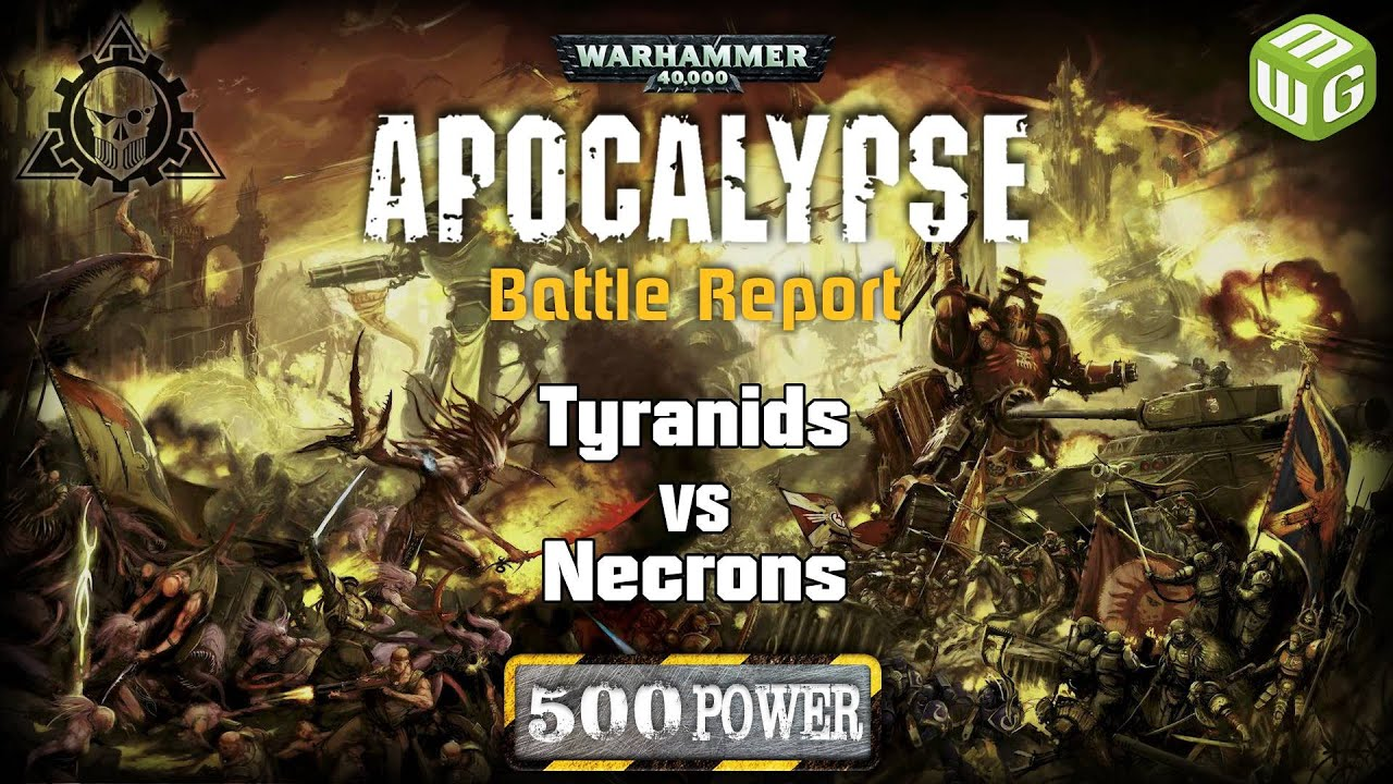 NEW Apocalypse Tyranids vs Necrons Warhammer 40k Battle Report Ep 3