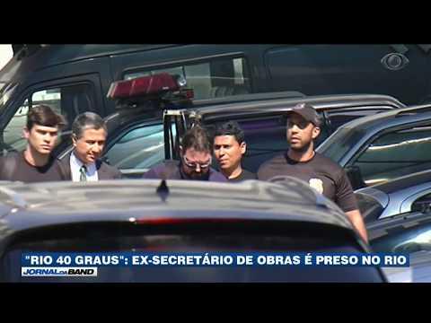 Ex-secretário De Obras Do Rio De Janeiro é Preso