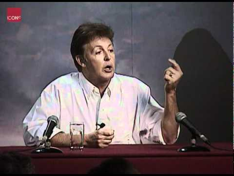 Paul McCartney talking about classical music and composing