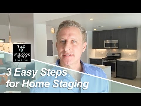 Palm Springs Real Estate Agent: Staging made simple with three easy steps