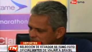 Selección de Ecuador se tomó foto oficial antes de viajar a Brasil