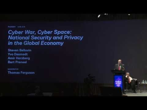 Cyber War, Cyber Space: National Security and Privacy in the Global Economy