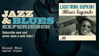 Lightnin' Hopkins - Moanin' Blues