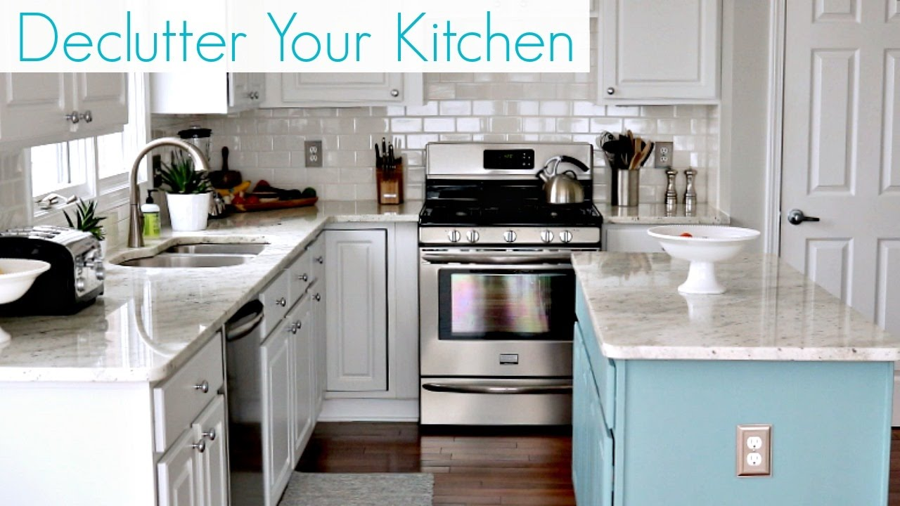 declutter the kitchen clutter free home youtube