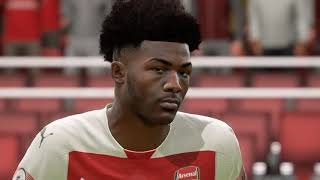 FIFA 19 - Arsenal Player Faces