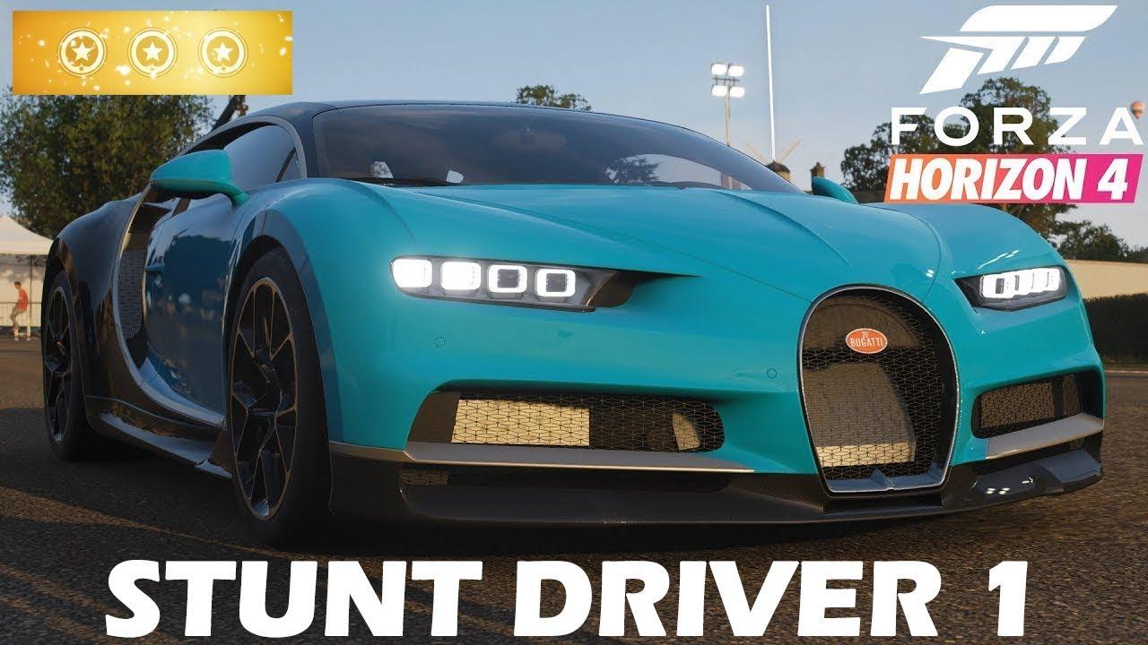 Forza Horizon 4 ALL The Stunt Driver 3 STARS | FreelancerGamer