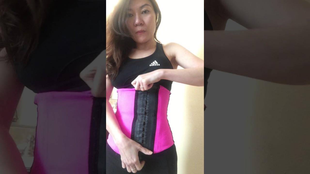 5e8869663 3 D vice Ann cherry Faja Deportiva waist trainer vice 26 steel Camilla  corset