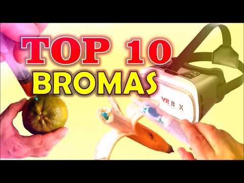 10 Bromas que puedes hacer a tus amigos y familiares (Recopilación 2017)