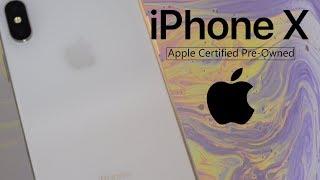 Как новый! Распаковка Официально Восстановленного iPhone X (RFB)