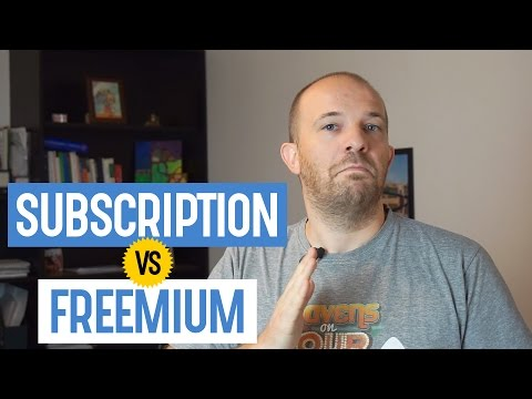 Subscription or freemium: Which is the better model for an online business? - Bobby's Minute, ep. 68