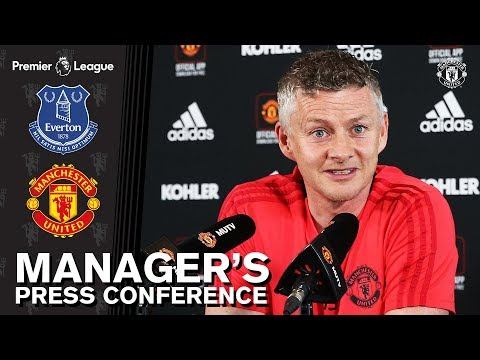 Manager's Press Conference | Everton v Manchester United | Ole Gunnar Solskjaer