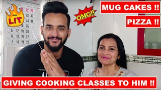 Giving Cooking classes to Fukra insaan !! QUARANTINE DAY 2