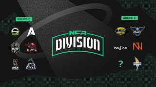 FREE FIRE - NFA DIVISION - GRUPO C x E - DIA 10 - #NFADIVISION