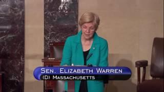 Senator Elizabeth Warren Celebrates the Career of Emily Winterson