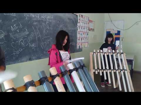 PROYECTO M. (MUSICLAR) - Taller de Percusión - Instrumentos con Materiales Reciclados. (Ensayo)