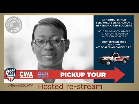 Pickup Tour Rally with Nina Turner and Ohio State Legislators