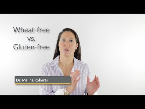 Wheat-free vs Gluten-free