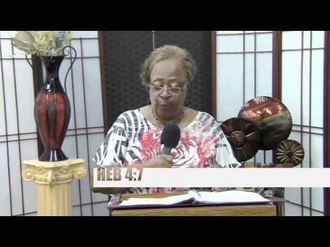 3rd Hour, Resting In God, Instructor Pastor Ollie Brown