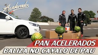 PAN ACELERADOS - BALIZA NO CAVALO DE PAU | ACELERADOS