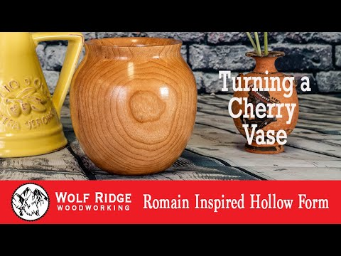 Woodturning: Roman Inspired Hollow Form