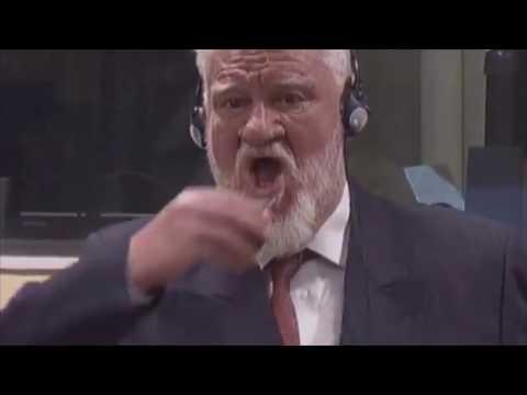 Evo trenutka kad je Praljak popio otrov u sudnici
