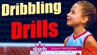 Ей 6 лет?? Чудо-баскетболистка! 6-YEARS-OLD basketball talent from Russia - Maria Nikeshina.