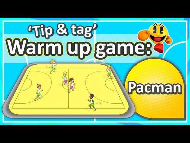 Tip Tag Warm Up Game Pacman K 6 Teaching Fundamentals Of Pe Youtube
