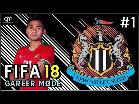 FIFA 18 Newcastle Career Mode: Era Baru The Magpies Bersama Calvin Makaminang #1