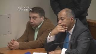 Lectura de veredicto juicio contra Mauricio Ortega Top Coyhaique 18 abril 2017 parte 2
