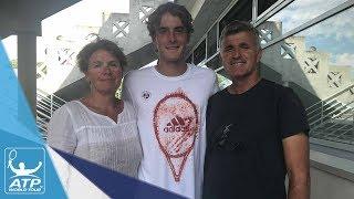 Tsitsipas Family Excited For Stefanos' Roland Garros Debut 2017