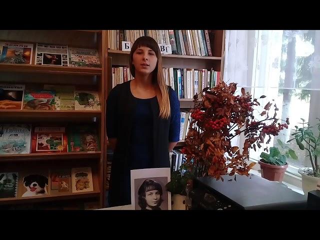 Изображение предпросмотра прочтения – МаринаВанина читает произведение «Кто создан из камня , кто создан из глины» М.И.Цветаевой