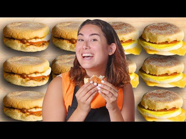 Fast Food Vs. Homemade: McDonald's Egg McMuffin