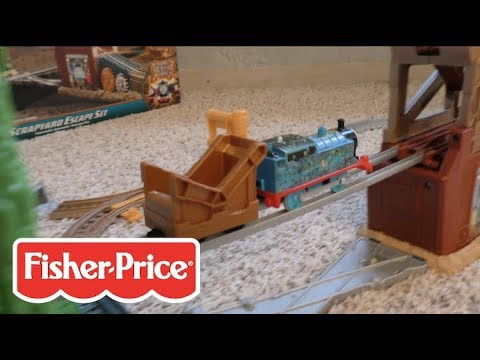 Fisher-Price Scrapyard Escape Set Assembly Instructions | Thomas & Friends 2017