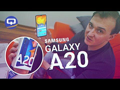 Samsung всех уничтожат?  Samsung Galaxy A20 (2019) Быстрый обзор и Распаковка / QUKE.RU /