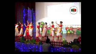 Year End Programme_ 2015_ Dance Jodi tor dak shune keu na ashe by ITHS Gulshan Junior Section