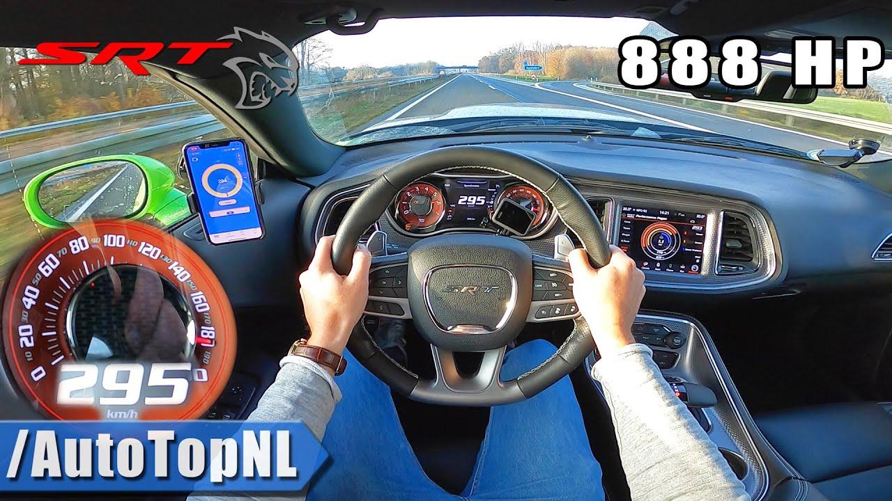 dodge hellcat top speed DODGE HELLCAT XR 2HP  AUTOBAHN POV (NO SPEED LIMIT!) by AutoTopNL