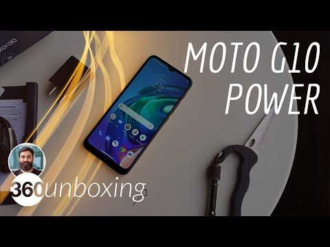 Moto G10 Power Unboxing: Huge 6,000mAh Battery, Quad Rear Cameras