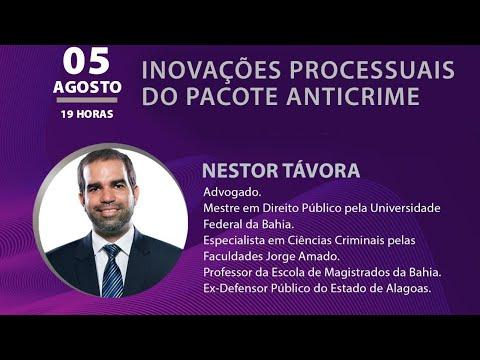 PALESTRA ESMEG - INOVAÇÕES PROCESSUAIS DO PACOTE ANTICRIME, com Nestor Távora