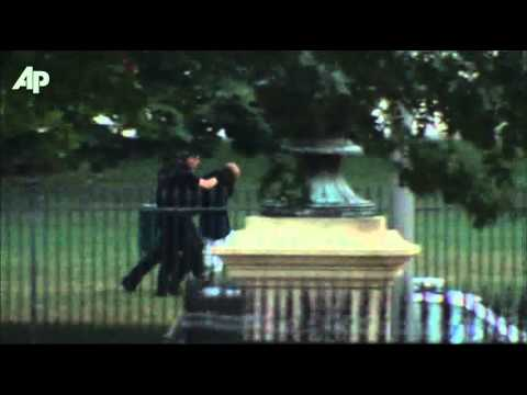 Raw Video: White House Fence Jumper
