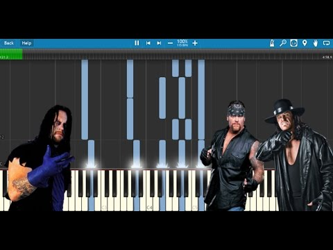 The Undertaker Piano Medley - Synthesia (All Undertaker WWE Themes)