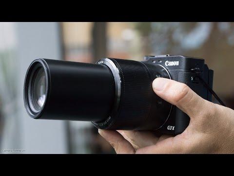Trên Tay Máy ảnh Siêu Zoom Canon G3X