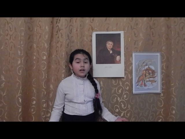 Изображение предпросмотра прочтения – МанижаАминова читает произведение «Стрекоза и Муравей» И.А.Крылова
