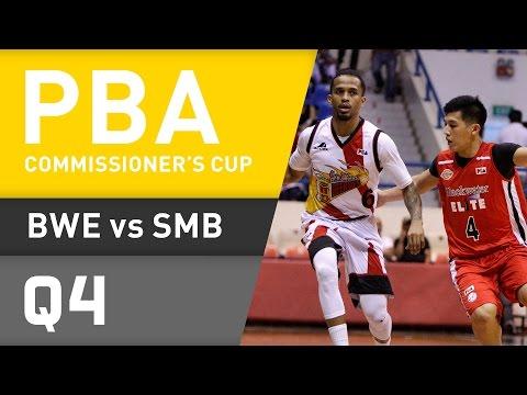 BLACKWATER VS. SAN MIGUEL - Q4 | PBA Commissioners Cup 2016