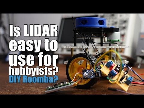 Is LIDAR easy to use for hobbyists? DIY Roomba? Obstacle Avoidance System for Robotics